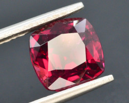 AAA Cut  4.0 Ct Natural Ravishing Color Rhodolite Garnet ~ G H M