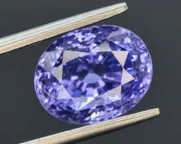 Certified~Natural 7.17 Ct Ravishing Color  Sapphire