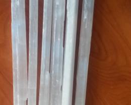 selenite rods or sticks