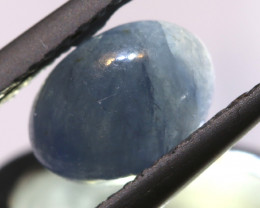 1.70 cts   Natural Blue Sapphire Oval Cab  ADG-1684