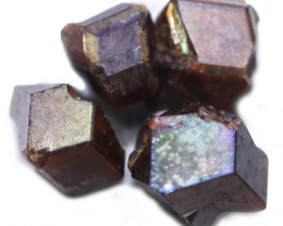 33.24 CTS RARE RAINBOW GARNET SPECIMEN PARCEL FROM JAPAN [MGW5441]