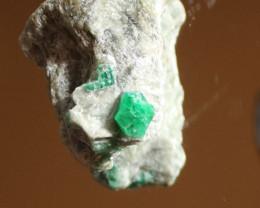 Mingora Emerald 59.4g Crystal on Calc Schist