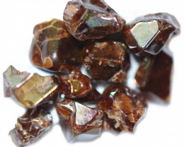 37.29 CTS RARE RAINBOW GARNET TUMBLED PARCEL FROM JAPAN [MGW5448]