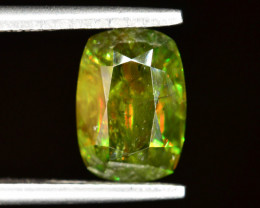 AAA Color 2.75 ct Chrome Sphene from Himalayan Range Skardu Pakistan