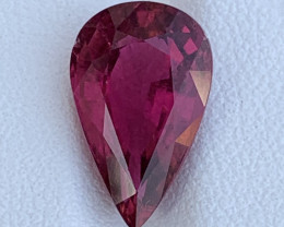 4.86 Carats Natural Color Rubellite Tourmaline Gemstone