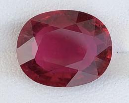 5.17 Carats Natural Color Tourmaline Gemstone