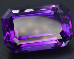 AAA Grade 78.75 ct Natural Fancy Cut Amethyst