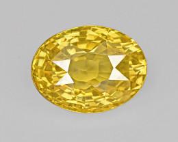 Yellow Sapphire, 6.84ct