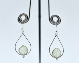 EARRINGS 925 STERLING SILVER NATURAL GEMSTONE FREE SHIPPING JE103