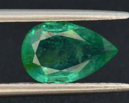 AAA Grade Top Color 1.70 ct Zambian Emerald T