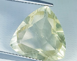 6.98 ct Top Quality Stunning Triangle Cut Natural Scapolite