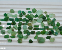 102.8ct Natural Emerald Form Panjshir Rough Lot T
