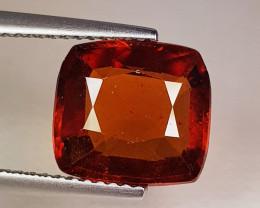 3.87 ct Top Quality Gem Oval Cut Top Luster Hessonite Garnet
