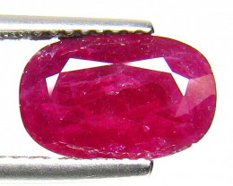AIG Certified Natural Ruby - 2.75 ct