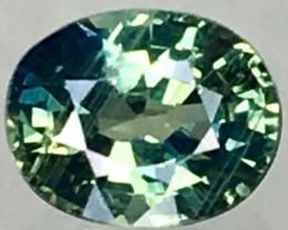 Natural Bi-Color Sapphire - 0.895 ct