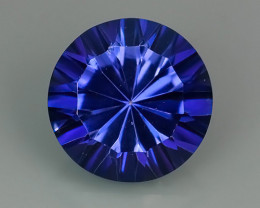 4.30 CTS SUPERIOR! TOP ROUND CUT PURPLE COLOR-TOPAZ GENUINE NR!!