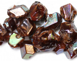 58.96 CTS RARE RAINBOW GARNET TUMBLED PARCEL FROM JAPAN [MGW5451]