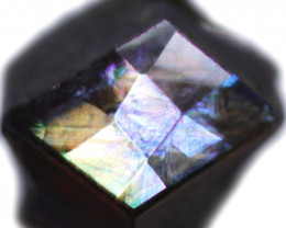 4.14 CTS RAINBOW GARNET JAPAN-FACETED-CERTIFIED [S-SAFE456]