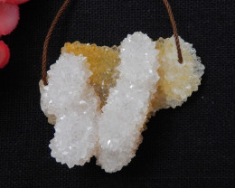 124cts  Druzy Crystal, Healing Crystal, Natural Crystal Specimen F257