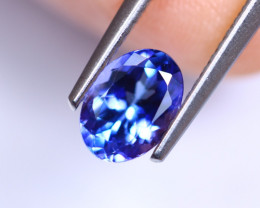 1.08cts Violet Blue D Block Tanzanite / RD444