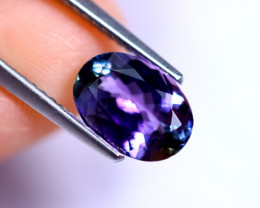 2.15cts Natural Violet Blue D Block Tanzanite / RD489
