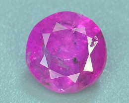 Top Clarity & Color 0.90 ct Rarest Pink Corundum Sapphire SB