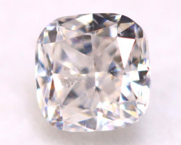Peach Pink Diamond 0.41Ct Natural Untreated Fancy Pink Diamond A1325