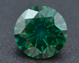 AAA Grade Ravishing Color 2.0 ct Natural Vivid Green Diamond