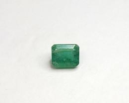Emerald Natural Gemstone – 1.47 Carats – Emerald Cut – May Birthstone