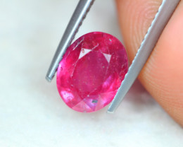 3.22Ct Ruby Oval Cut Lot Z543