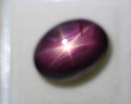 15.24ct Natural 6 Rays Star Ruby  Lot GW5187