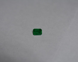 0.35 Carat Deep Green Panjshir Emerald
