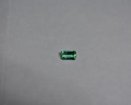 0.28 Carat Light Green Panjshir Emerald