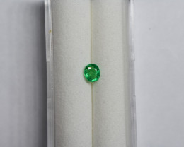 0.43 Carat Top Green Panjshir Emerald