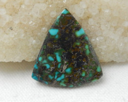 33Cts Turquoise ,Handmade Gemstone ,Turquoise Cabochons ,Lucky Stone F287