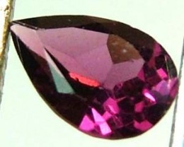 RHODALITE GARNET FACETED 0.85 CTS  PG-494