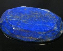 LAPIS LAZULI  OVAL FACETED STONE  35.15 CARATS  AG 1522