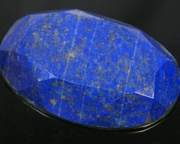 LAPIS LAZULI  OVAL FACETED STONE 63.95  CARATS  AG 1530