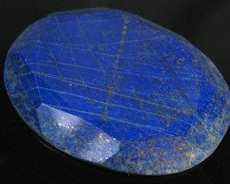 LAPIS LAZULI  OVAL FACETED STONE 118.60  CARATS  AG 1550