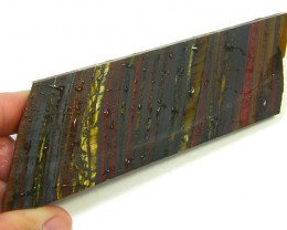 PETRIFIED TIGER EYE SLAB 90 GRAMS  SG1799