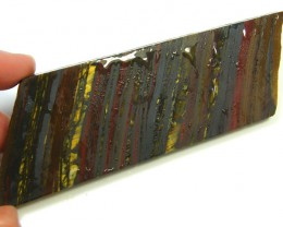 PETRIFIED TIGER EYE SLAB 98 GRAMS  SG1800