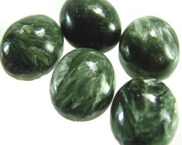 SERAPHINITE PARCEL-LEAFY PATTERN 22.6 CTS [ST3720 ]