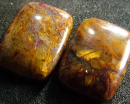 PIETERSITE CAB PAIR FROM CHINA 26  CTS  [ST3799 ]