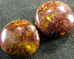 PIETERSITE CAB PAIR FROM CHINA 15  CTS  [ST3773 ]