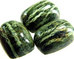 GREEN  ZEBRA JASPER PARCEL-POLISHED 18.1 CTS [MX3977 ]