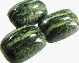 GREEN  ZEBRA JASPER PARCEL-POLISHED 18.5 CTS [MX3979 ]