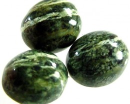 GREEN  ZEBRA JASPER PARCEL-POLISHED 13.4 CTS [MX3998 ]