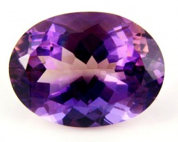 AMETRINE VVS QUALITY FACETED STONE 30.35 CTS  SG 1873