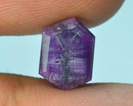 Top Garde 3.30 ct Corundum Kashmir Sapphire Trapiche Slice