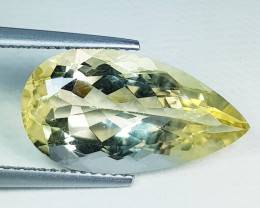 8.15 ct Top Quality Gem Stunning Pear Cut Natural Scapolite